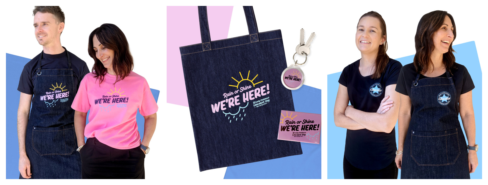 We're delighted to launch the range of Early Childhood Educators' Day 2021 items!